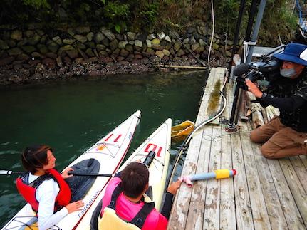 中京テレビ取材:巡礼ツアー「海の熊野古道」